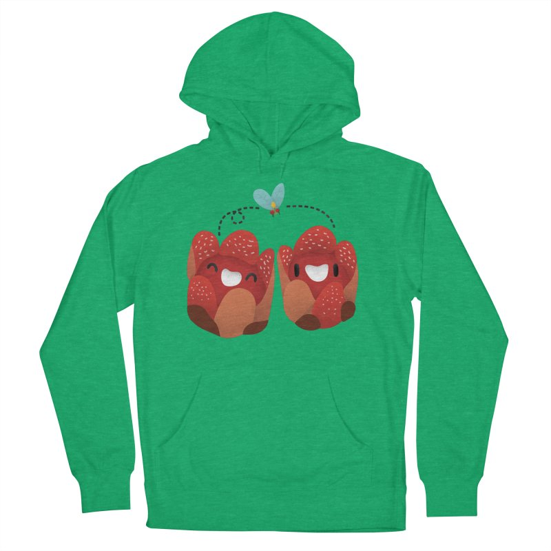 Rafflesia consueloae Men's French Terry Pullover Hoody by Filipeanut Sari-Sari Store