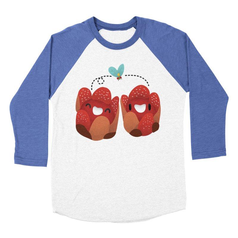 Rafflesia consueloae Men's Baseball Triblend Longsleeve T-Shirt by Filipeanut Sari-Sari Store