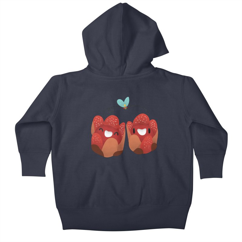 Rafflesia consueloae Kids Baby Zip-Up Hoody by Filipeanut Sari-Sari Store