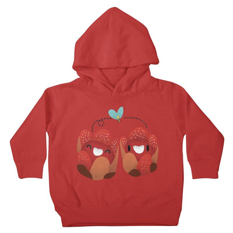 Rafflesia consueloae Kids Toddler Pullover Hoody by Filipeanut Sari-Sari Store