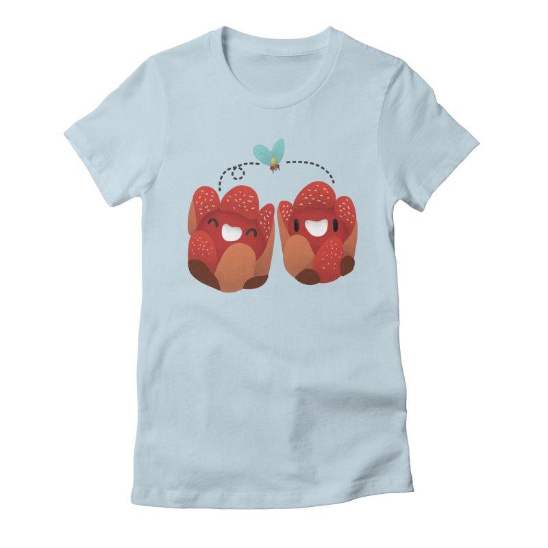 Rafflesia consueloae Women's Fitted T-Shirt by Filipeanut Sari-Sari Store