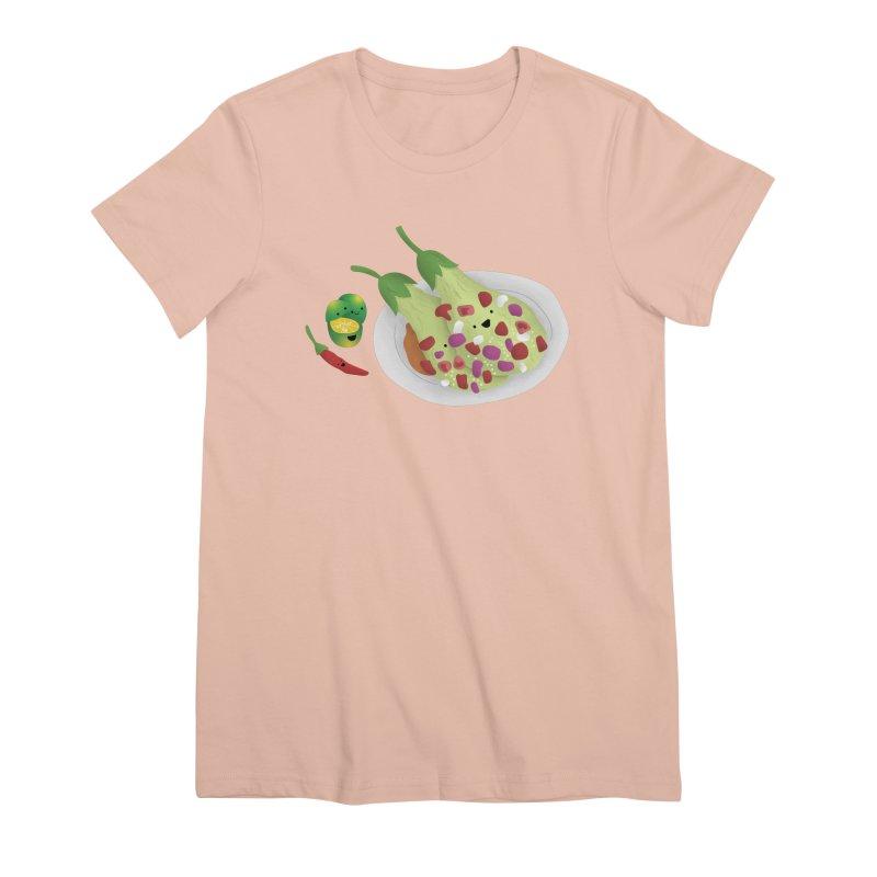 Ensaladang talong Women's Premium T-Shirt by Filipeanut Sari-Sari Store