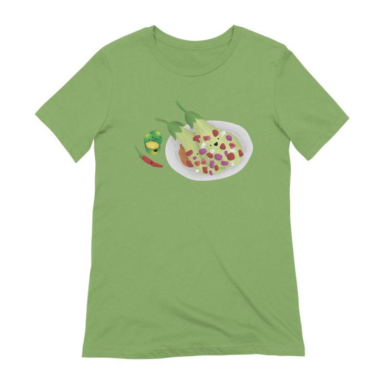 Ensaladang talong Women's Extra Soft T-Shirt by Filipeanut Sari-Sari Store