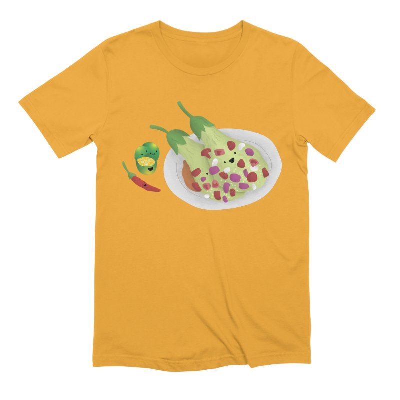 Ensaladang talong Men's T-Shirt by Filipeanut Sari-Sari Store