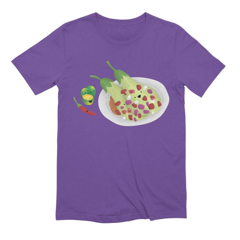 Ensaladang talong Men's Extra Soft T-Shirt by Filipeanut Sari-Sari Store