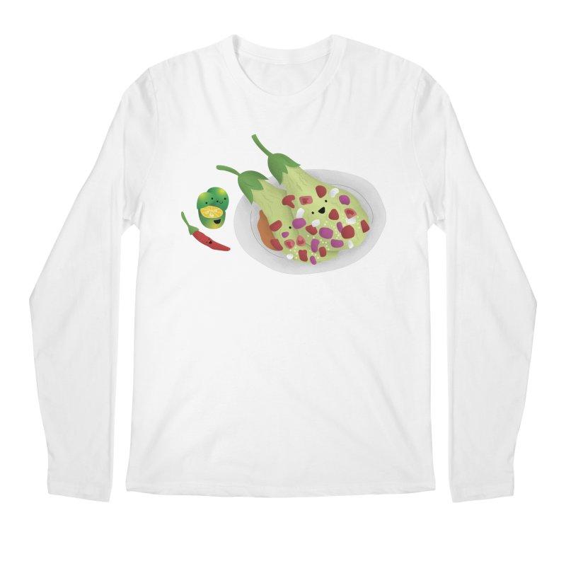 Ensaladang talong Men's Regular Longsleeve T-Shirt by Filipeanut Sari-Sari Store