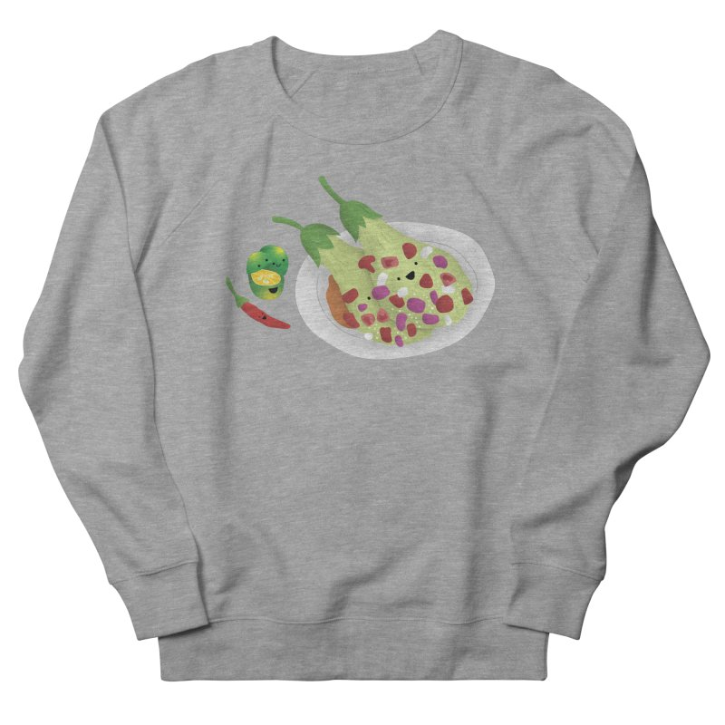 Ensaladang talong Women's French Terry Sweatshirt by Filipeanut Sari-Sari Store