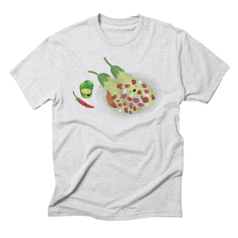 Ensaladang talong Men's Triblend T-Shirt by Filipeanut Sari-Sari Store
