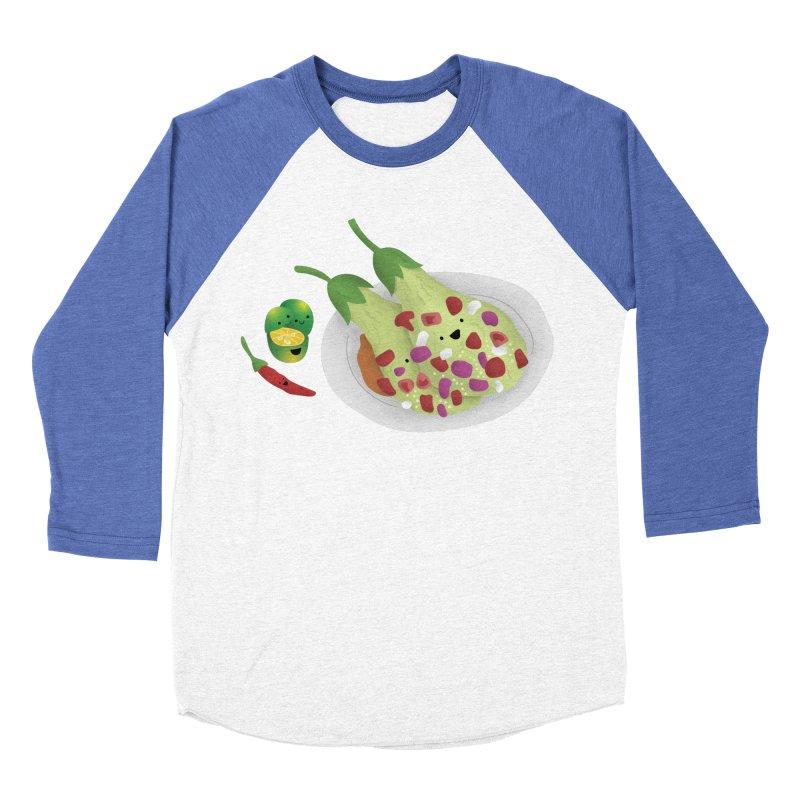 Ensaladang talong Women's Baseball Triblend Longsleeve T-Shirt by Filipeanut Sari-Sari Store