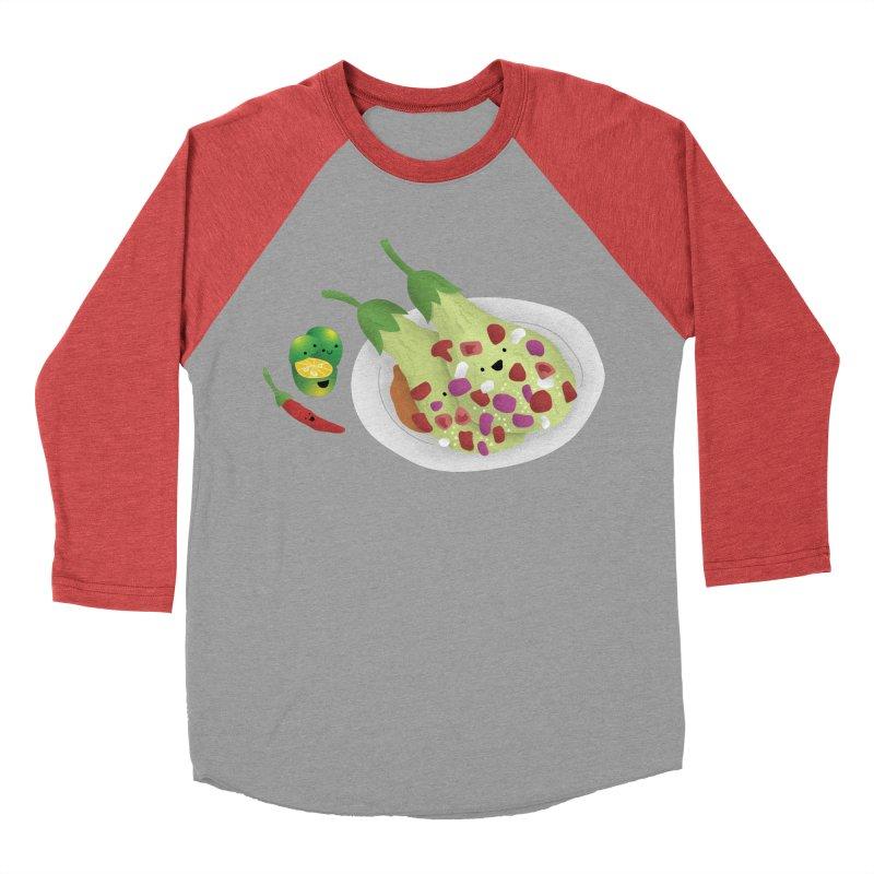 Ensaladang talong Men's Baseball Triblend Longsleeve T-Shirt by Filipeanut Sari-Sari Store