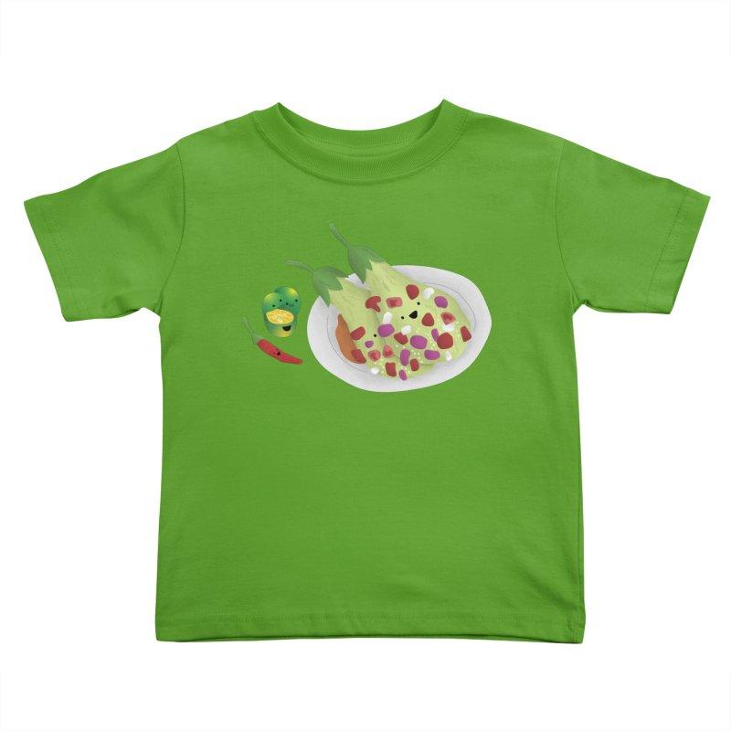 Ensaladang talong Kids Toddler T-Shirt by Filipeanut Sari-Sari Store