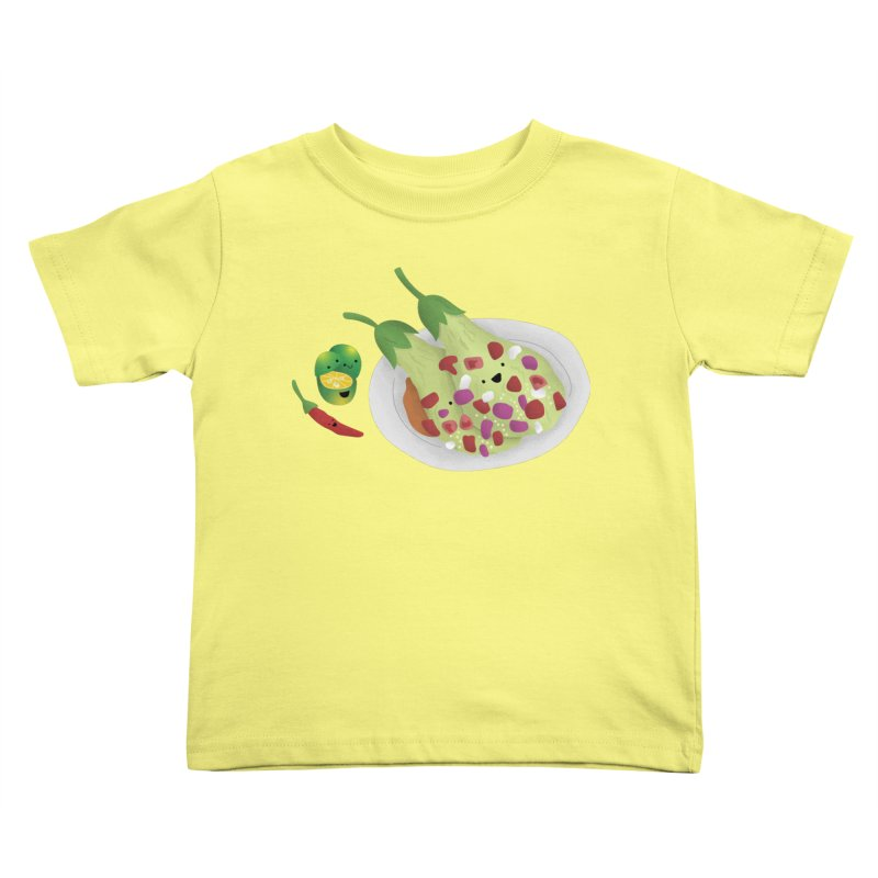 Ensaladang talong Kids Toddler T-Shirt by Filipeanut Sari-Sari Store