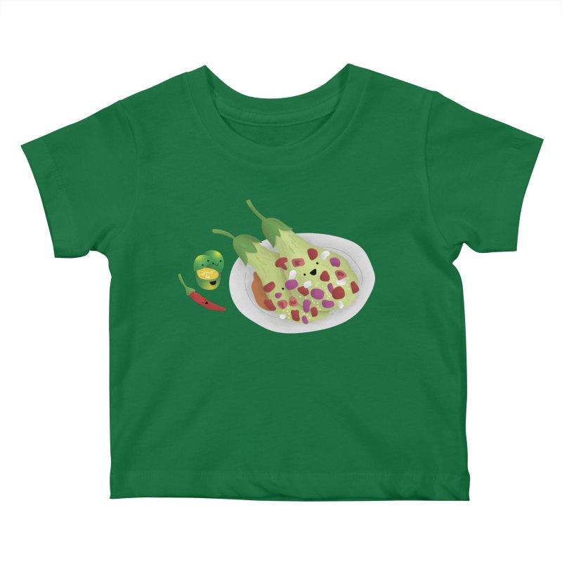 Ensaladang talong Kids Baby T-Shirt by Filipeanut Sari-Sari Store