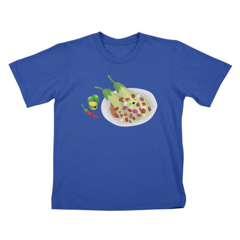 Ensaladang talong Kids T-Shirt by Filipeanut Sari-Sari Store
