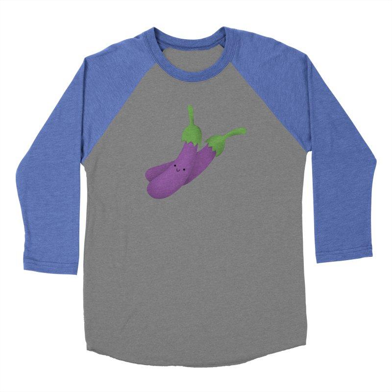 Talong or eggplant Women's Longsleeve T-Shirt by Filipeanut Sari-Sari Store