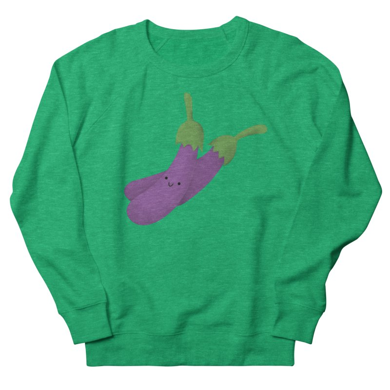 Talong or eggplant Men's French Terry Sweatshirt by Filipeanut Sari-Sari Store