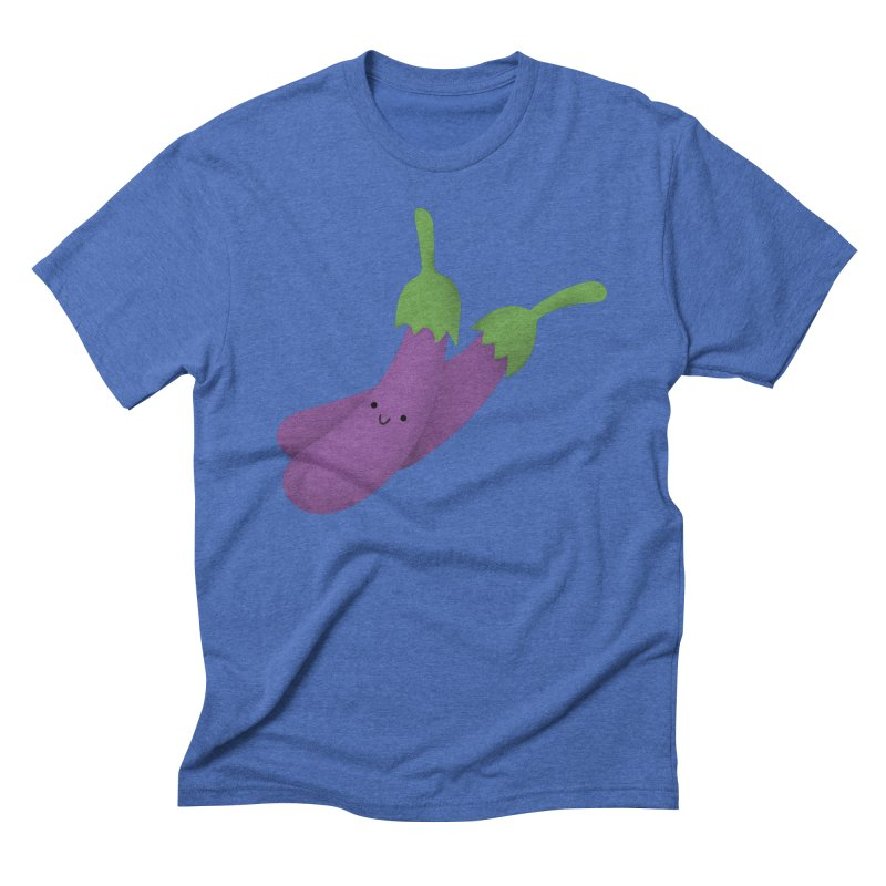 Talong or eggplant Men's T-Shirt by Filipeanut Sari-Sari Store