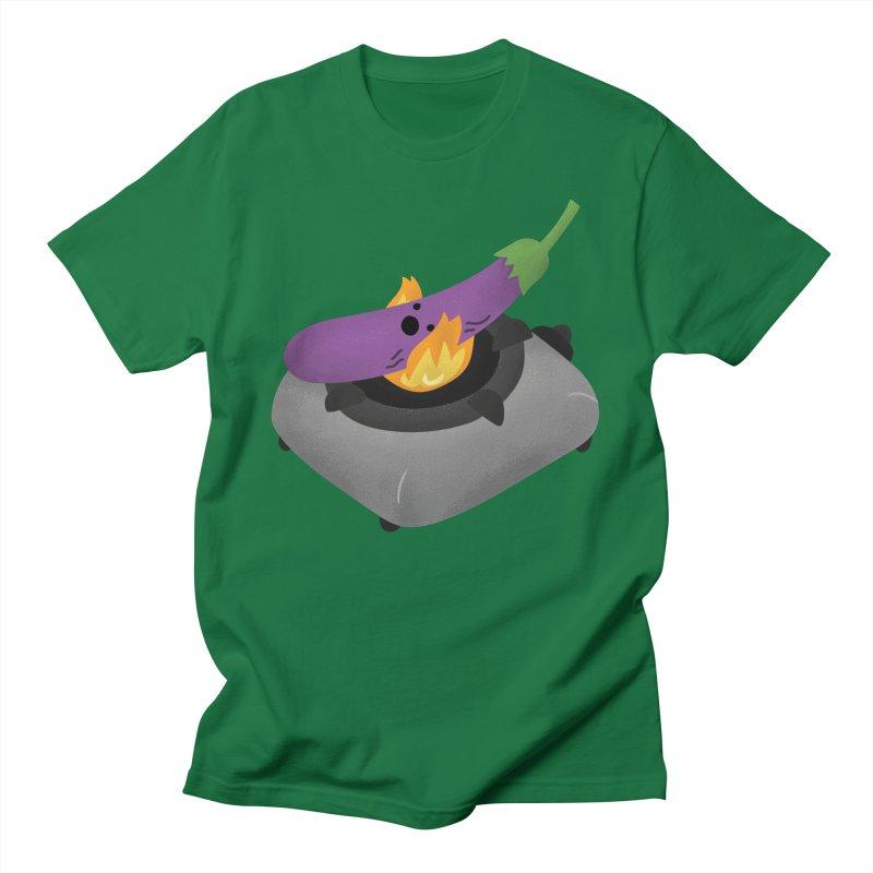 Talong on fire Men's T-Shirt by Filipeanut Sari-Sari Store