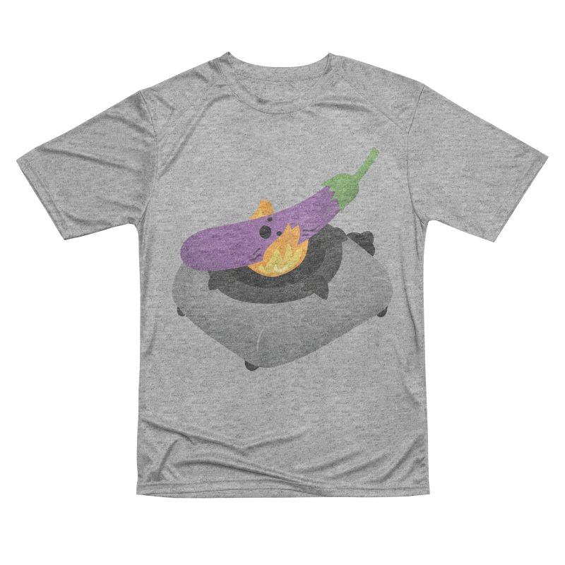 Talong on fire Men's Performance T-Shirt by Filipeanut Sari-Sari Store