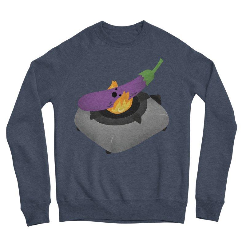 Talong on fire Men's Sponge Fleece Sweatshirt by Filipeanut Sari-Sari Store