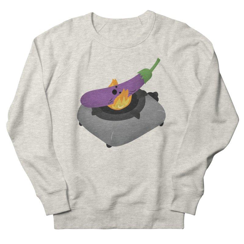Talong on fire Men's French Terry Sweatshirt by Filipeanut Sari-Sari Store