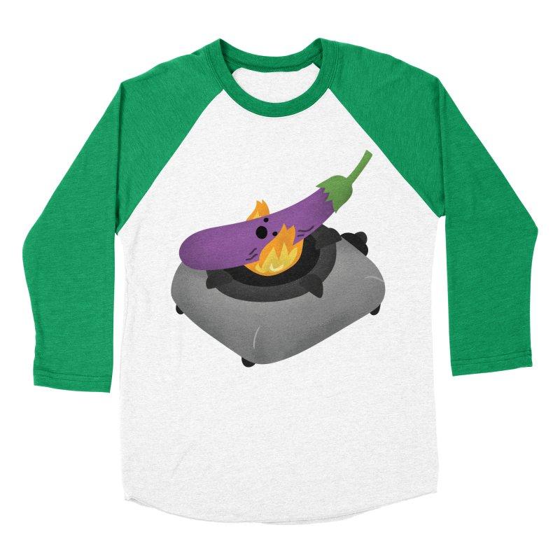 Talong on fire Men's Baseball Triblend Longsleeve T-Shirt by Filipeanut Sari-Sari Store