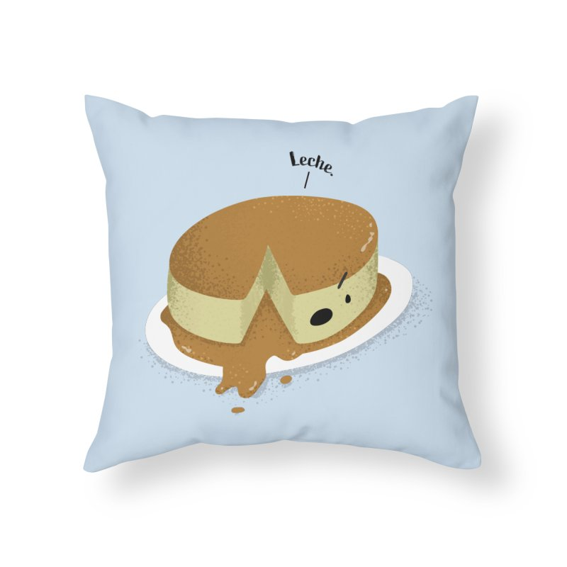 Leche Home Throw Pillow by Filipeanut Sari-Sari Store