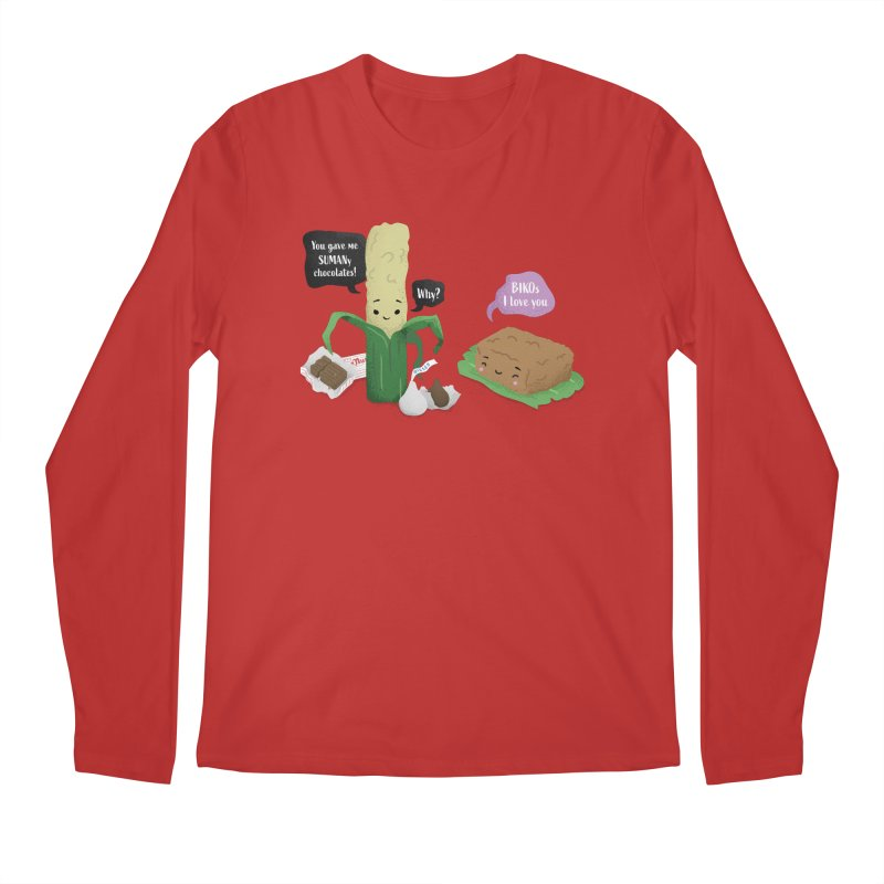 Suman & Biko Men's Longsleeve T-Shirt by Filipeanut Sari-Sari Store
