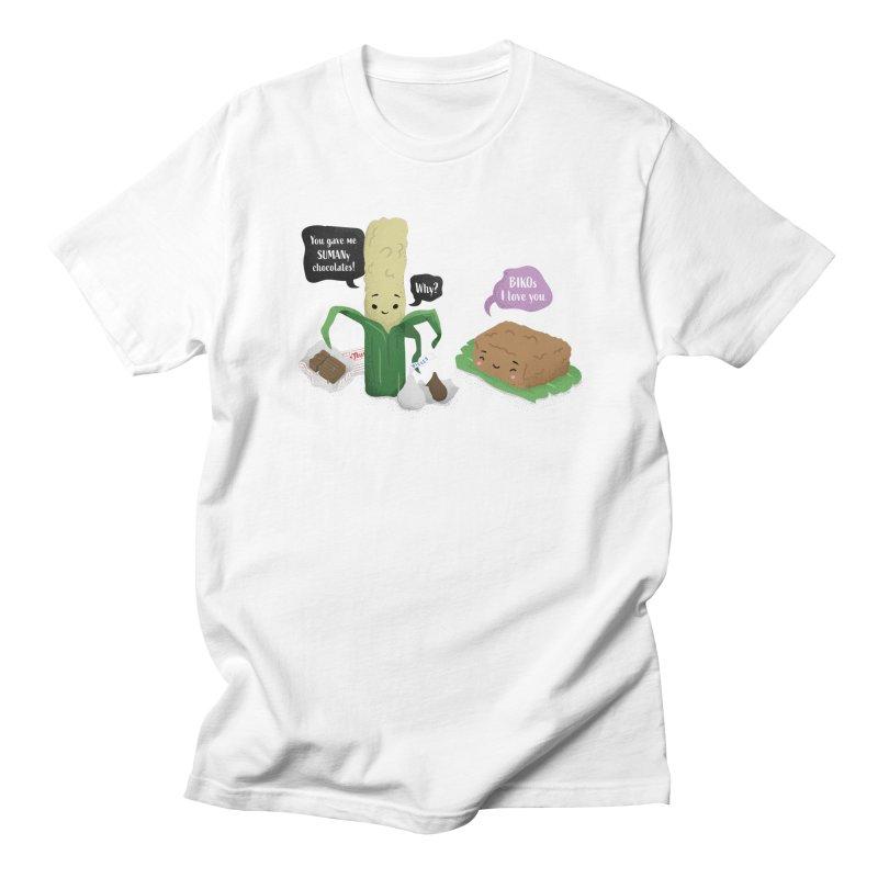 Suman & Biko Men's T-Shirt by Filipeanut Sari-Sari Store