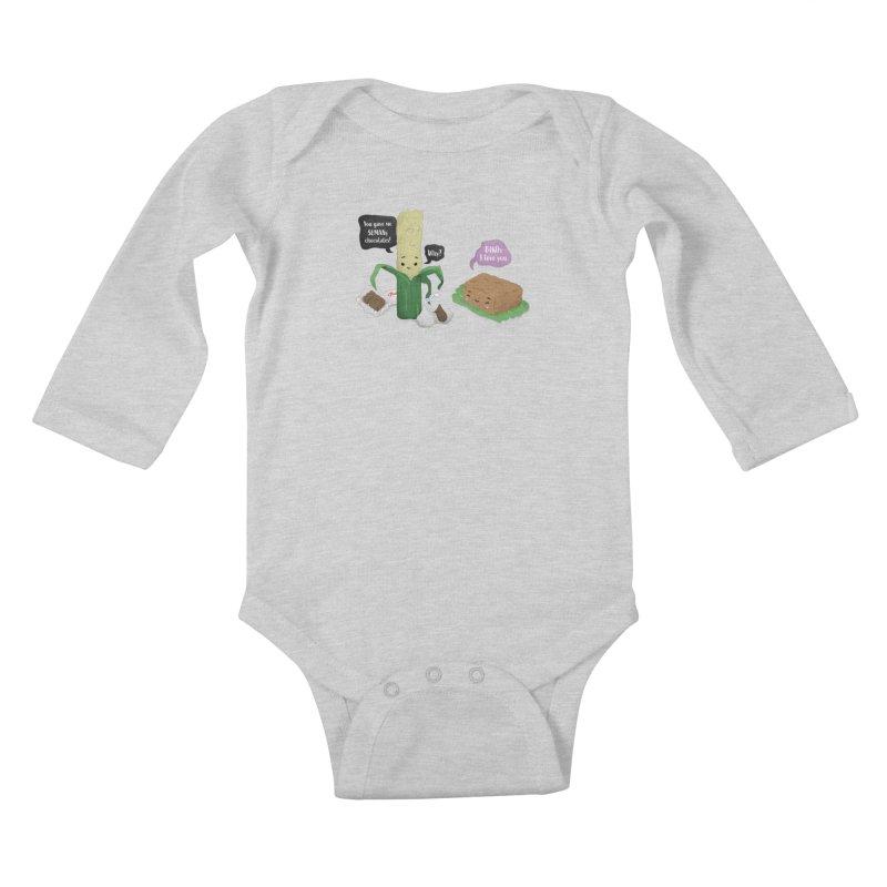 Suman & Biko Kids Baby Longsleeve Bodysuit by Filipeanut Sari-Sari Store