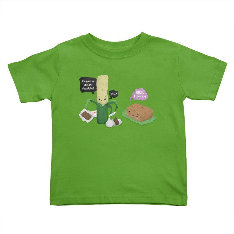 Suman & Biko Kids Toddler T-Shirt by Filipeanut Sari-Sari Store