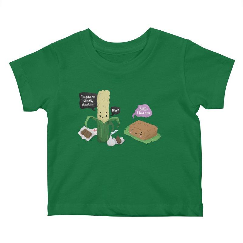 Suman & Biko Kids Baby T-Shirt by Filipeanut Sari-Sari Store