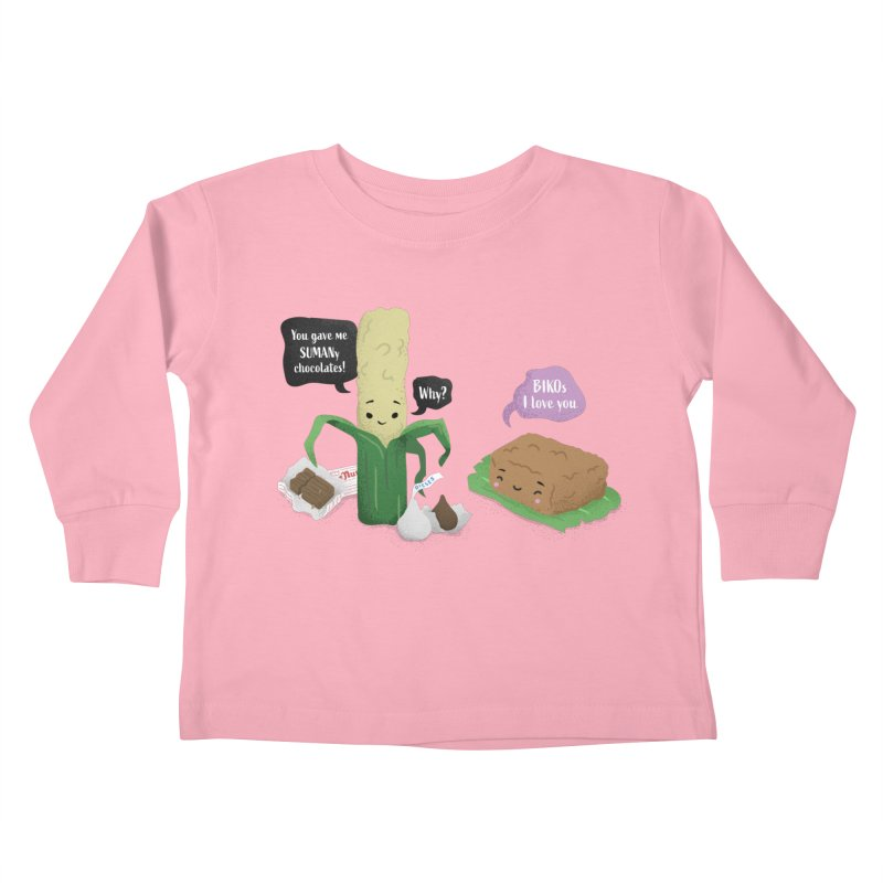 Suman & Biko Kids Toddler Longsleeve T-Shirt by Filipeanut Sari-Sari Store
