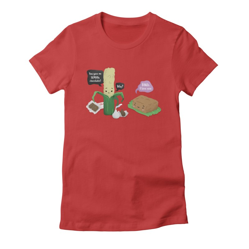 Suman & Biko Women's T-Shirt by Filipeanut Sari-Sari Store