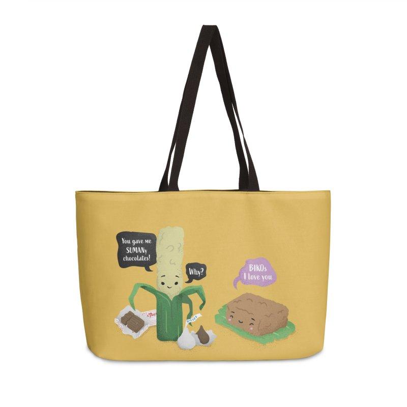 Suman & Biko Accessories Weekender Bag Bag by Filipeanut Sari-Sari Store