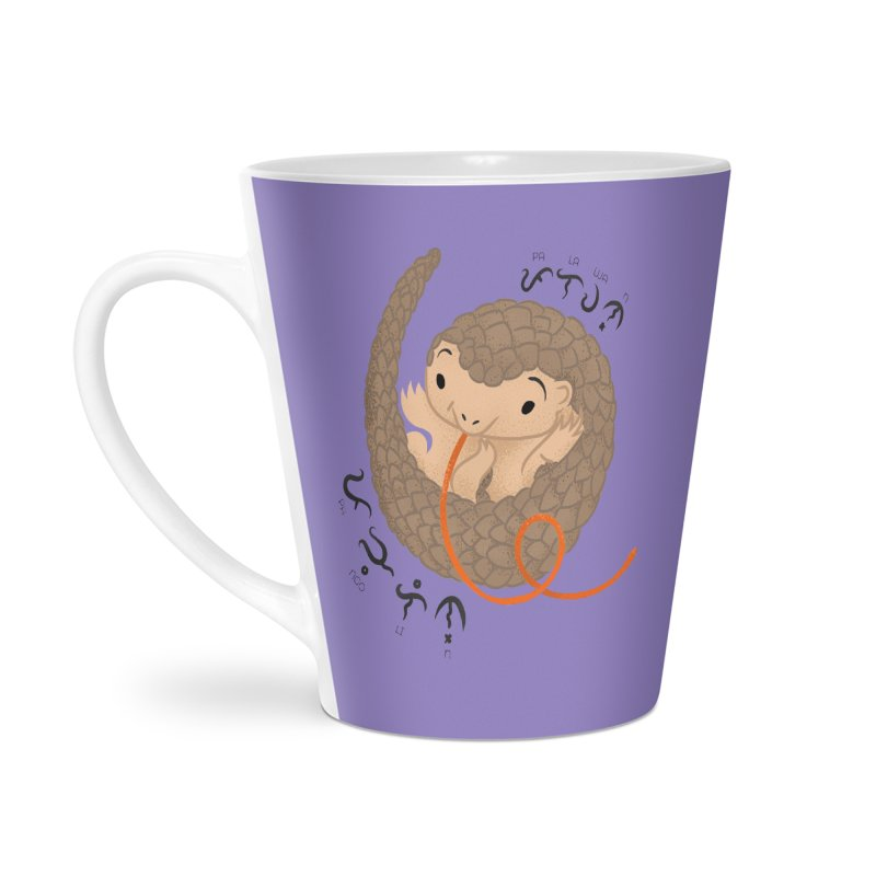 Palawan Pangolin Accessories Latte Mug by Filipeanut Sari-Sari Store