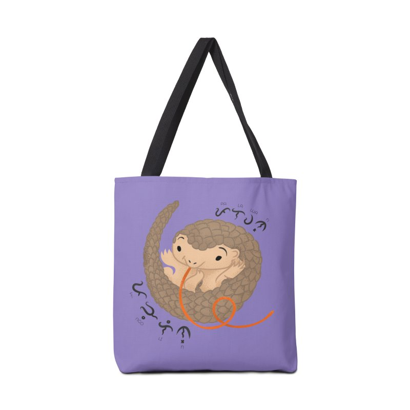 Palawan Pangolin Accessories Tote Bag Bag by Filipeanut Sari-Sari Store
