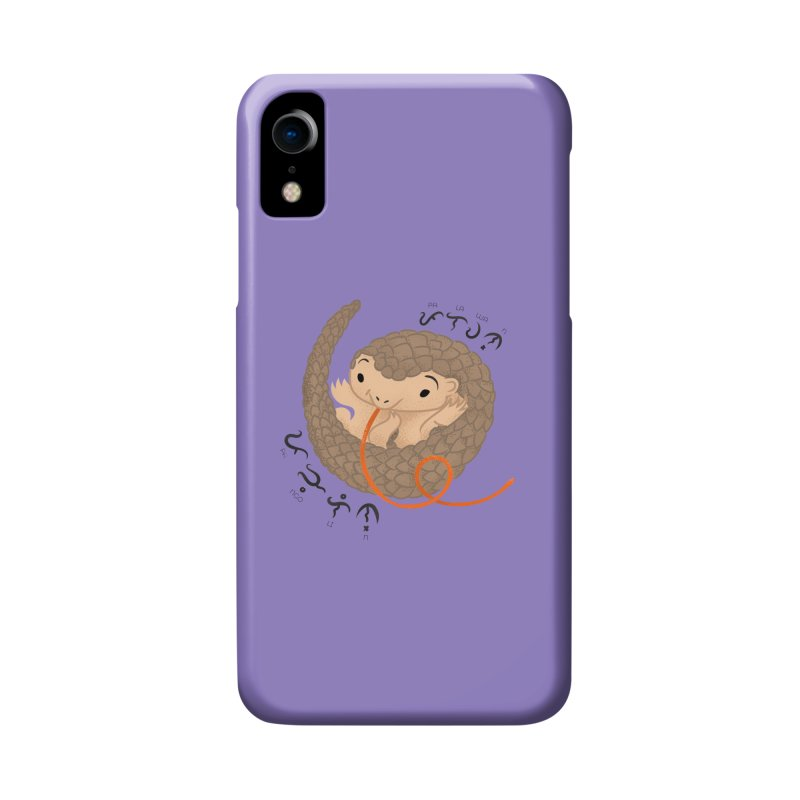 Palawan Pangolin Accessories Phone Case by Filipeanut Sari-Sari Store
