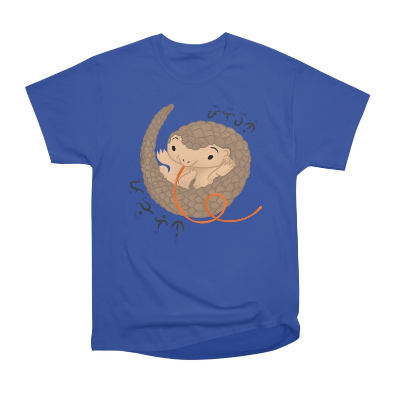 Palawan Pangolin Men's T-Shirt by Filipeanut Sari-Sari Store