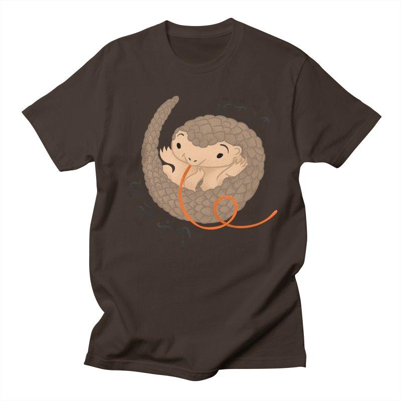 Palawan Pangolin Men's T-Shirt by Filipeanut Sari-Sari Store
