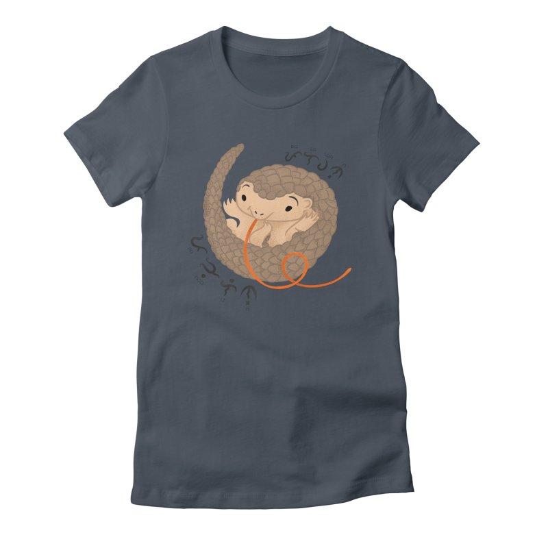 Palawan Pangolin Women's T-Shirt by Filipeanut Sari-Sari Store