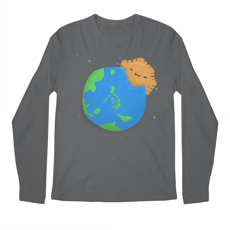 Sun Eating World Men's Longsleeve T-Shirt by Filipeanut Sari-Sari Store