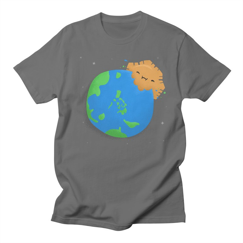 Sun Eating World Men's T-Shirt by Filipeanut Sari-Sari Store
