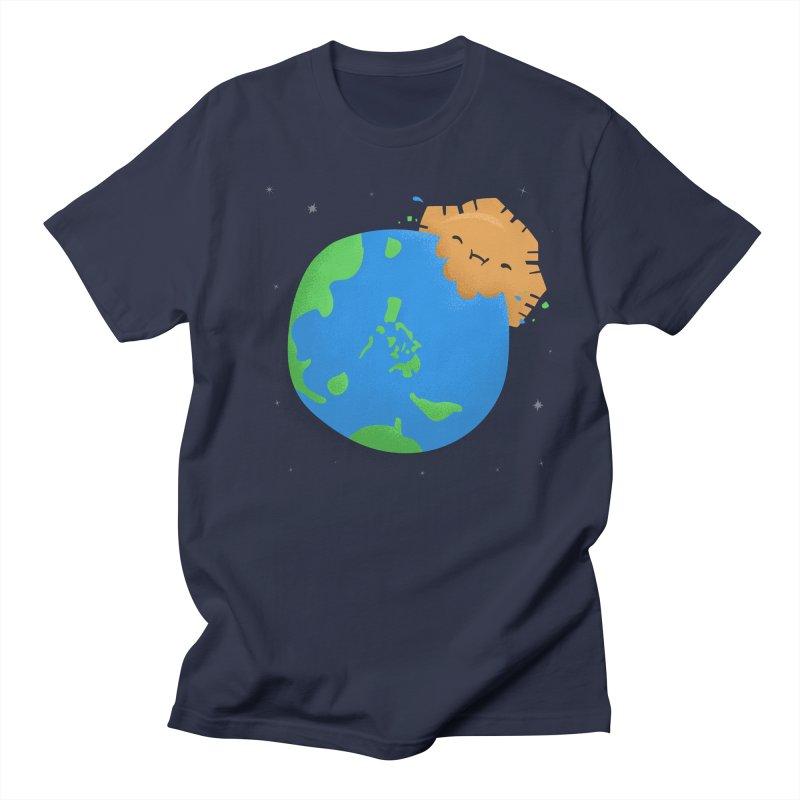 Sun Eating World Men's Regular T-Shirt by Filipeanut Sari-Sari Store