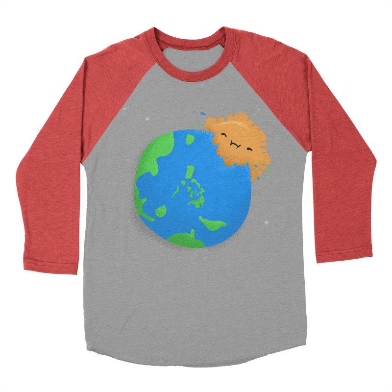 Sun Eating World Women's Baseball Triblend Longsleeve T-Shirt by Filipeanut Sari-Sari Store