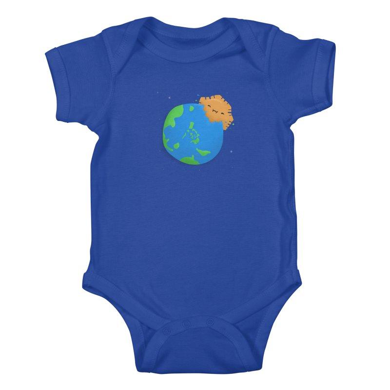 Sun Eating World Kids Baby Bodysuit by Filipeanut Sari-Sari Store