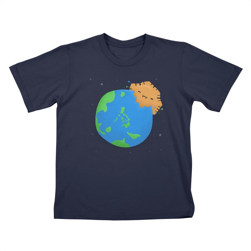 Sun Eating World Kids T-Shirt by Filipeanut Sari-Sari Store