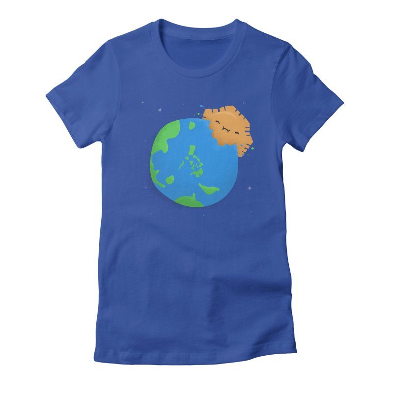 Sun Eating World Women's T-Shirt by Filipeanut Sari-Sari Store