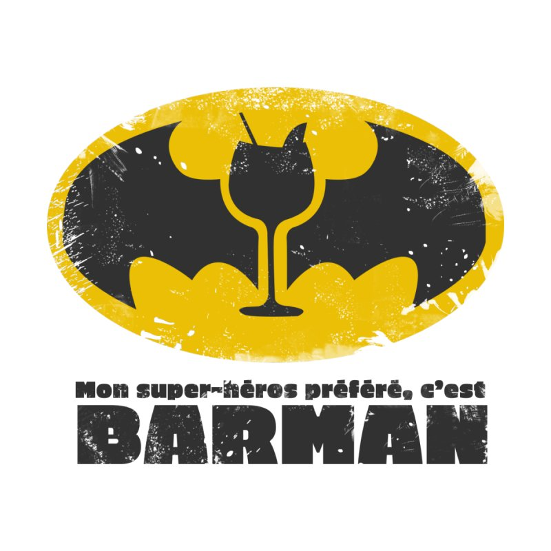Barman Men's T-Shirt by fillettespompettes's Shop