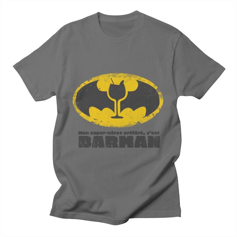 Barman Men's T-Shirt by fillettespompettes's Shop